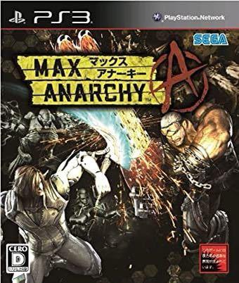 MAX ANARCHY(マックス アナーキー) 【PS3ゲームソフト】☆新品未開封_画像1