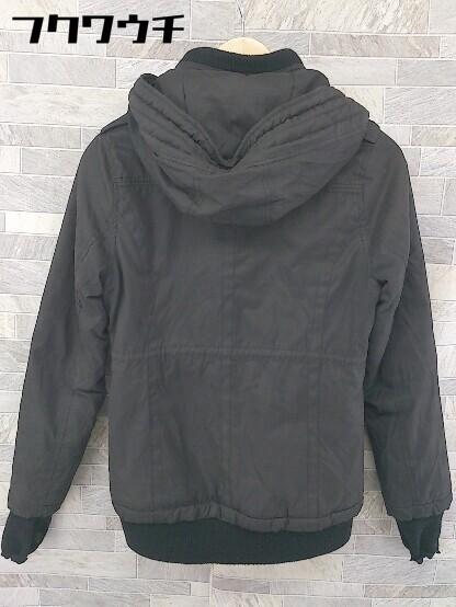 ■ Decious ディシャス 長袖 中綿 ジャケット サイズ38 ブラック レディース_画像2