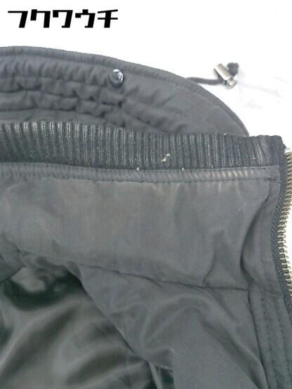 ■ Decious ディシャス 長袖 中綿 ジャケット サイズ38 ブラック レディース_画像5