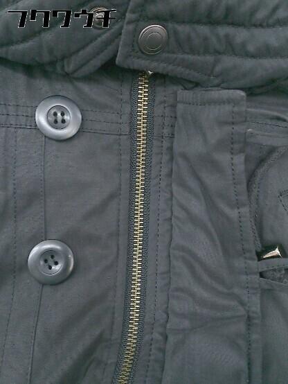 ■ Decious ディシャス 長袖 中綿 ジャケット サイズ38 ブラック レディース_画像4