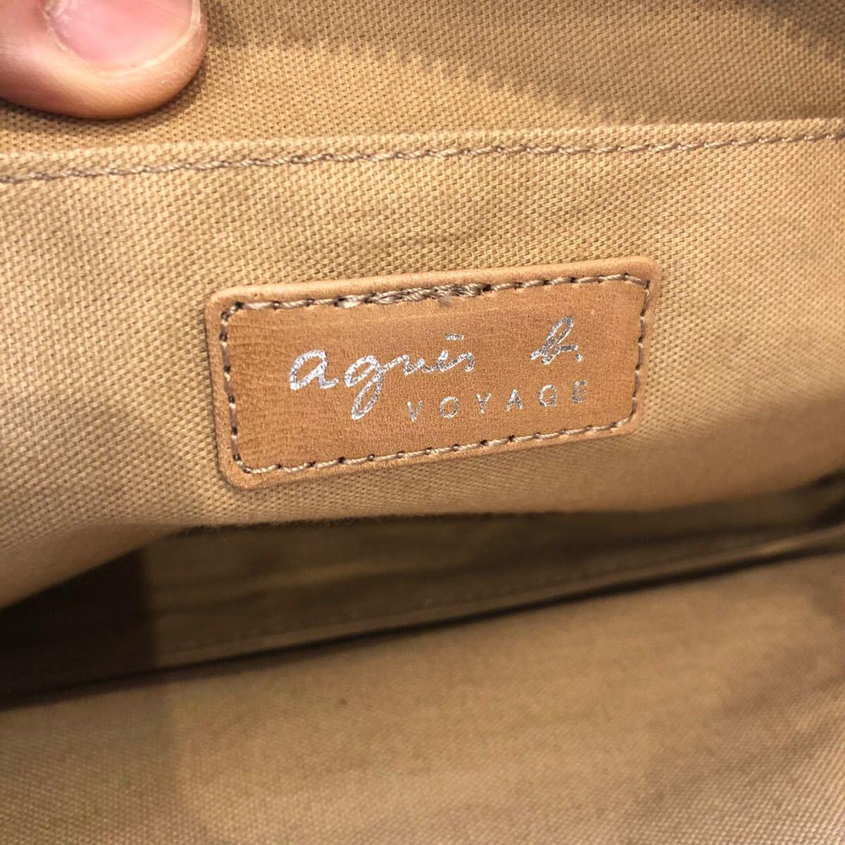 agnes b VOYAGE アニエスベーボヤージュ トートバッグ ハンドバッグ ショルダーバッグ レディース ブランド アイテム
