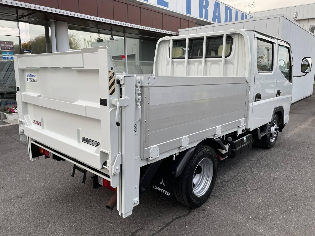 「H17 三菱キャンター Wキャビントラック ダブルキャブトラック パワーゲート付き」の画像3