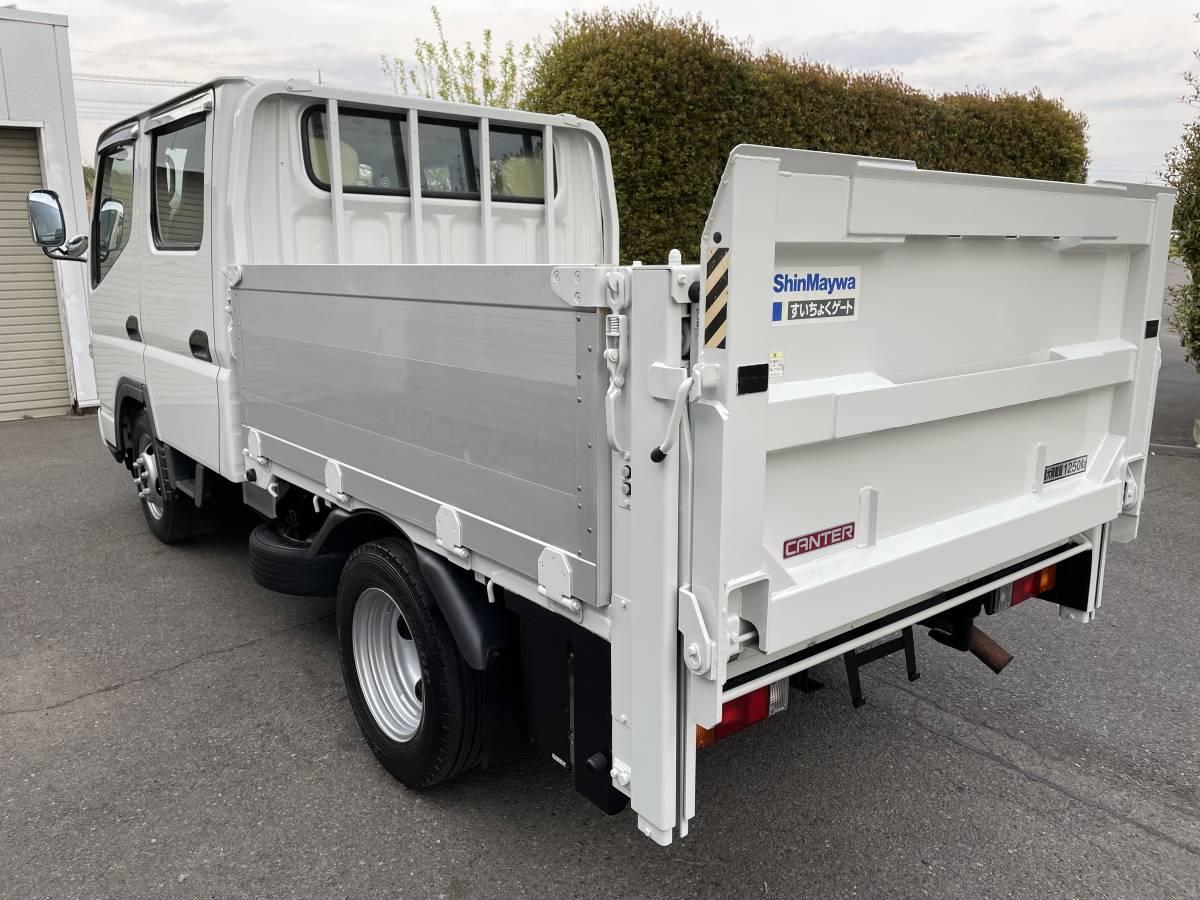 H17 三菱キャンター Wキャビントラック ダブルキャブトラック パワーゲート付き_画像4
