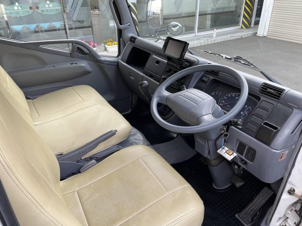 H17 三菱キャンター Wキャビントラック ダブルキャブトラック パワーゲート付き_画像7