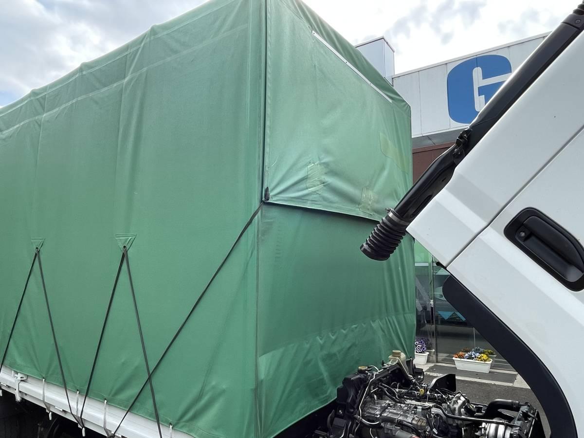 H25 三菱キャンター ワイドロング ホロ車 2トントラック 車検あり 走行距離103,902㎞ 最大積載2000㎏_画像10