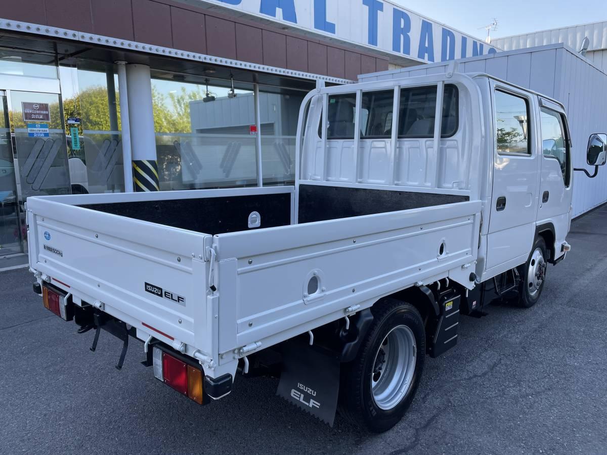 「H25 いすゞエルフ 1.5トントラック Wキャビントラック 4WD 走行距離55,583㎞ 最大積載1500㎏」の画像3