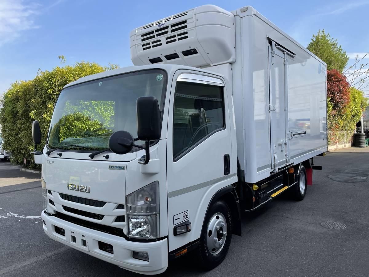 「H28 いすゞエルフ ワイドロング 冷蔵冷凍車 -25℃設定あり ハイブリッド車 最大積載2000㎏」の画像1