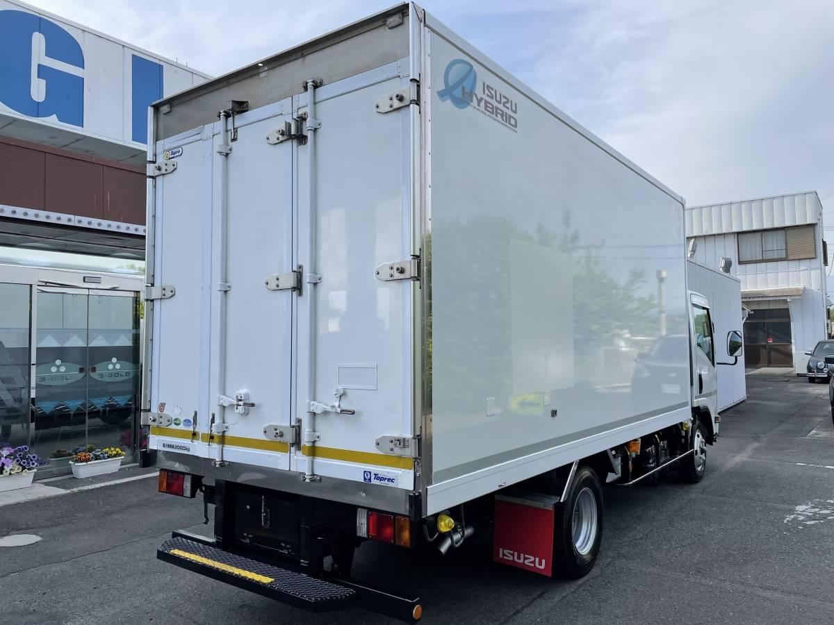 「H28 いすゞエルフ ワイドロング 冷蔵冷凍車 -25℃設定あり ハイブリッド車 最大積載2000㎏」の画像3
