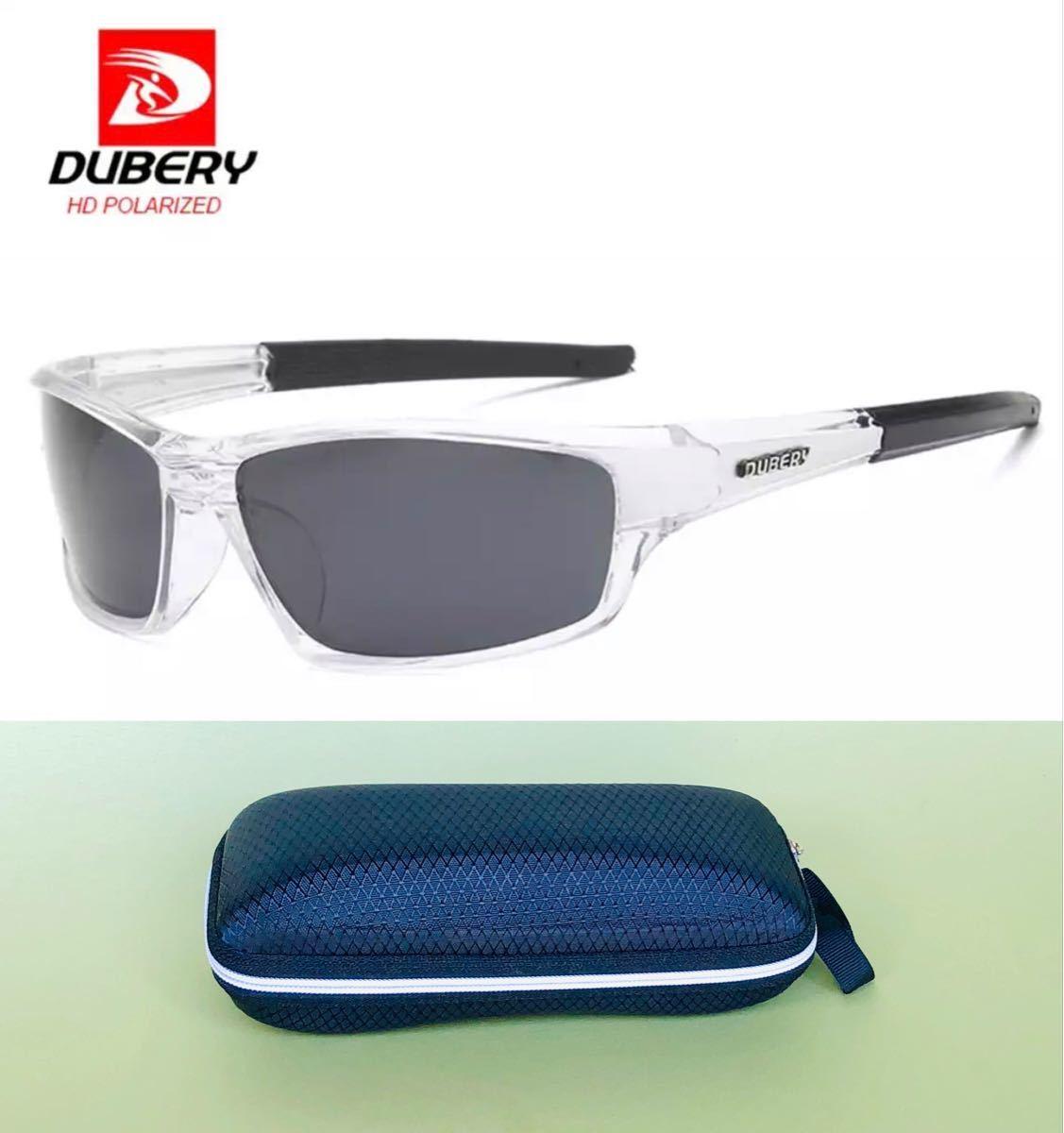 DUBERY サングラス 偏光グラス UV400 軽量 車  釣り アウトドア スポーツサングラス 偏光レンズ 偏光サングラス