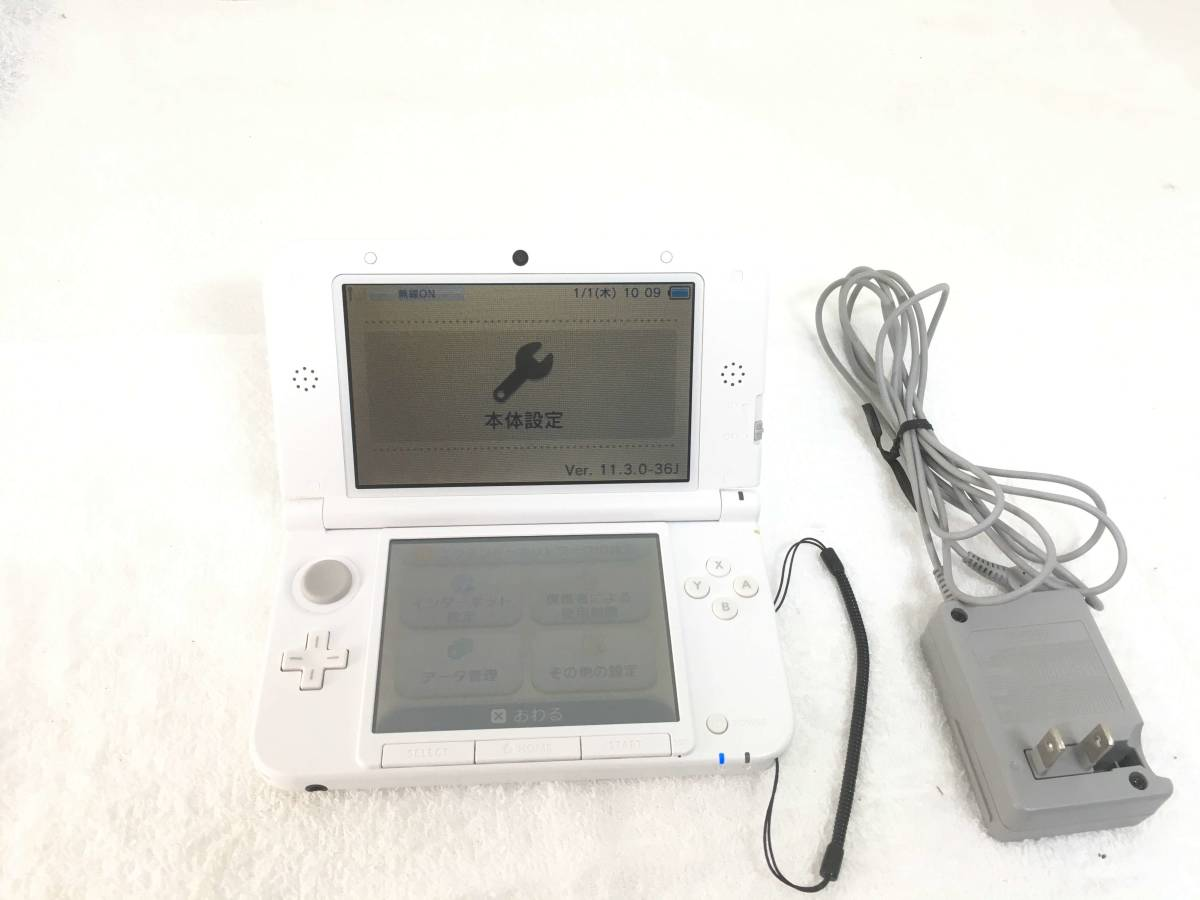 3069 Nintendo 3DS LL ニンテンドー3DS LL ホワイト 動作確認済