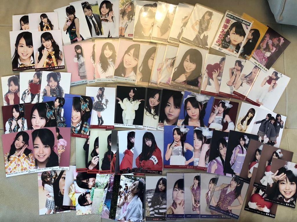 卒業限定値下!超希少!会いたかった 復刻版コンプ大量 BLT 大声ダイヤモンド/水着/他/初期/レア/生写真まとめ/峯岸みなみ/AKB48 2006 2010_画像1