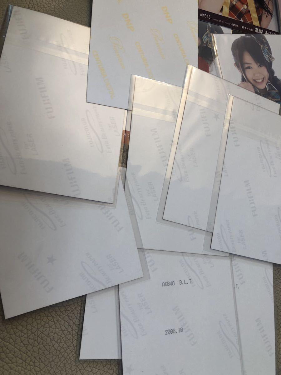 卒業限定値下!超希少!会いたかった 復刻版コンプ大量 BLT 大声ダイヤモンド/水着/他/初期/レア/生写真まとめ/峯岸みなみ/AKB48 2006 2010_画像4