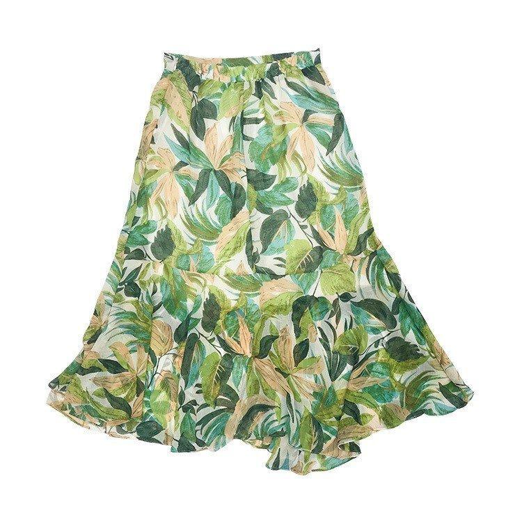 スカート レディース 春夏 花柄 ロング丈 スカートレディース 春夏 きれいめ ロング丈 スカート 花柄 ロング フレアスカート Aライン