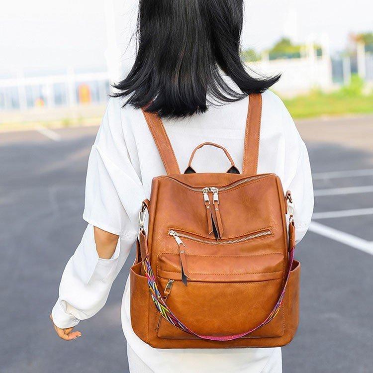 リュック メンズ レディース 通勤 通学 大容量リュック革 リュックサック ビジネスリュック 防水 ビジネスバック革 メンズ レディース 鞄