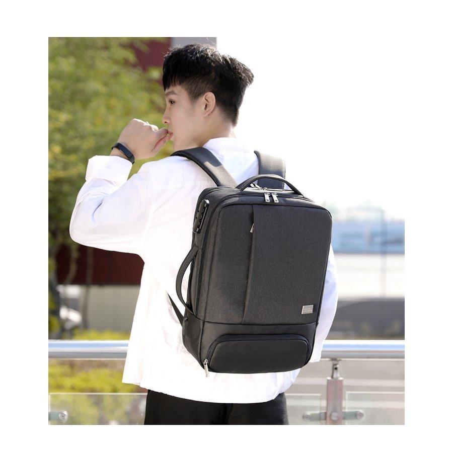 リュック メンズ レディース 通勤 通学 大容量リュック革 リュックサック ビジネスリュック 防水 ビジネスバック メンズ レディース 30L