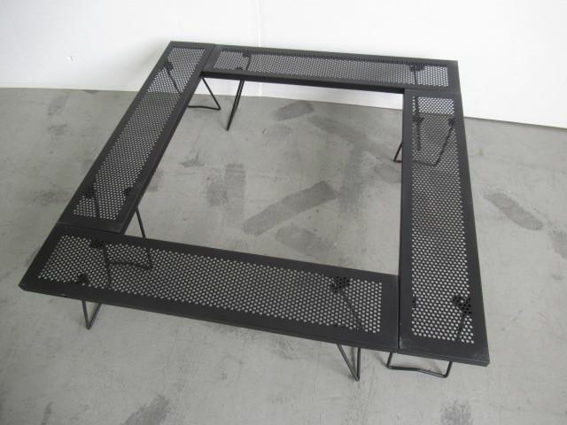 尾上製作所 ONOE マルチファイアテーブル MT-8317 アウトドア BBQ 焚き火 キャンプ 囲炉裏 ローテーブル テーブル/チェア 023977006_画像1