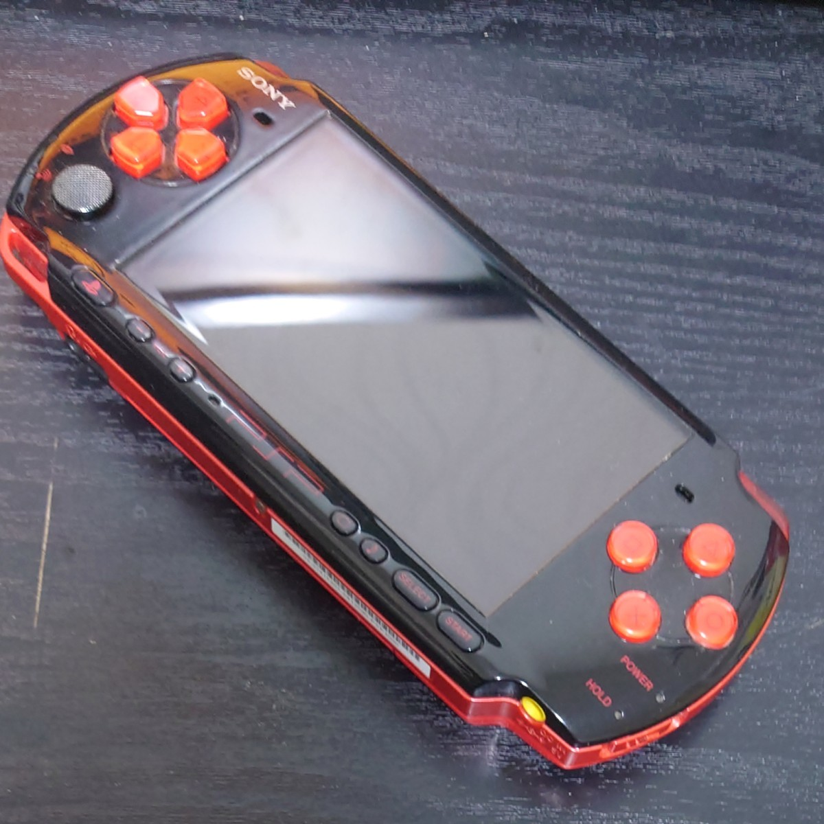 PSP3000レッドブラック本体のみ