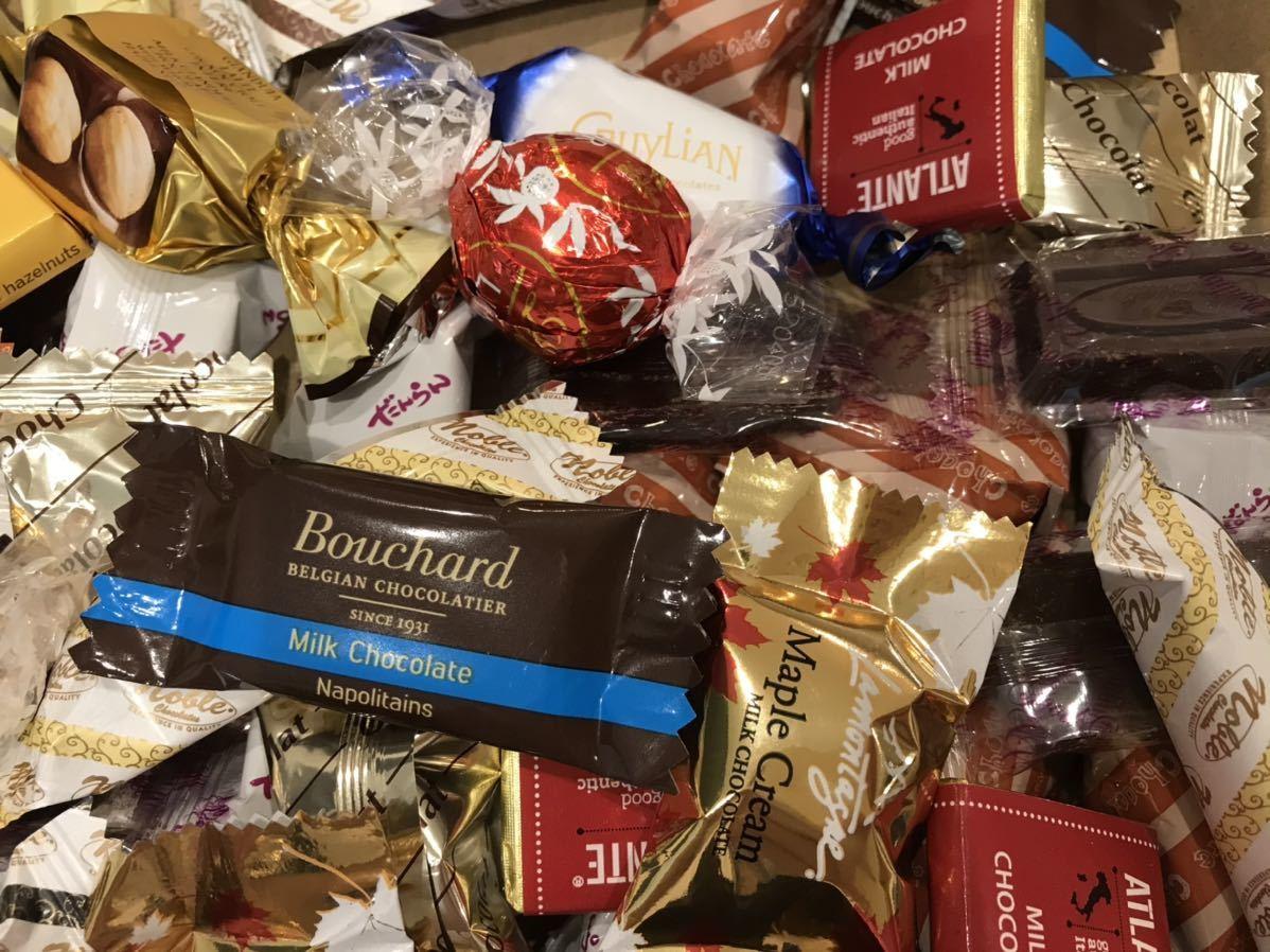 送料210円~1円スタート!お菓子詰め合わせセット約80個 GODIVAゴディバチョコレート&ベルギーチョコ&リンツリンドール高級 お買い得格安_画像3