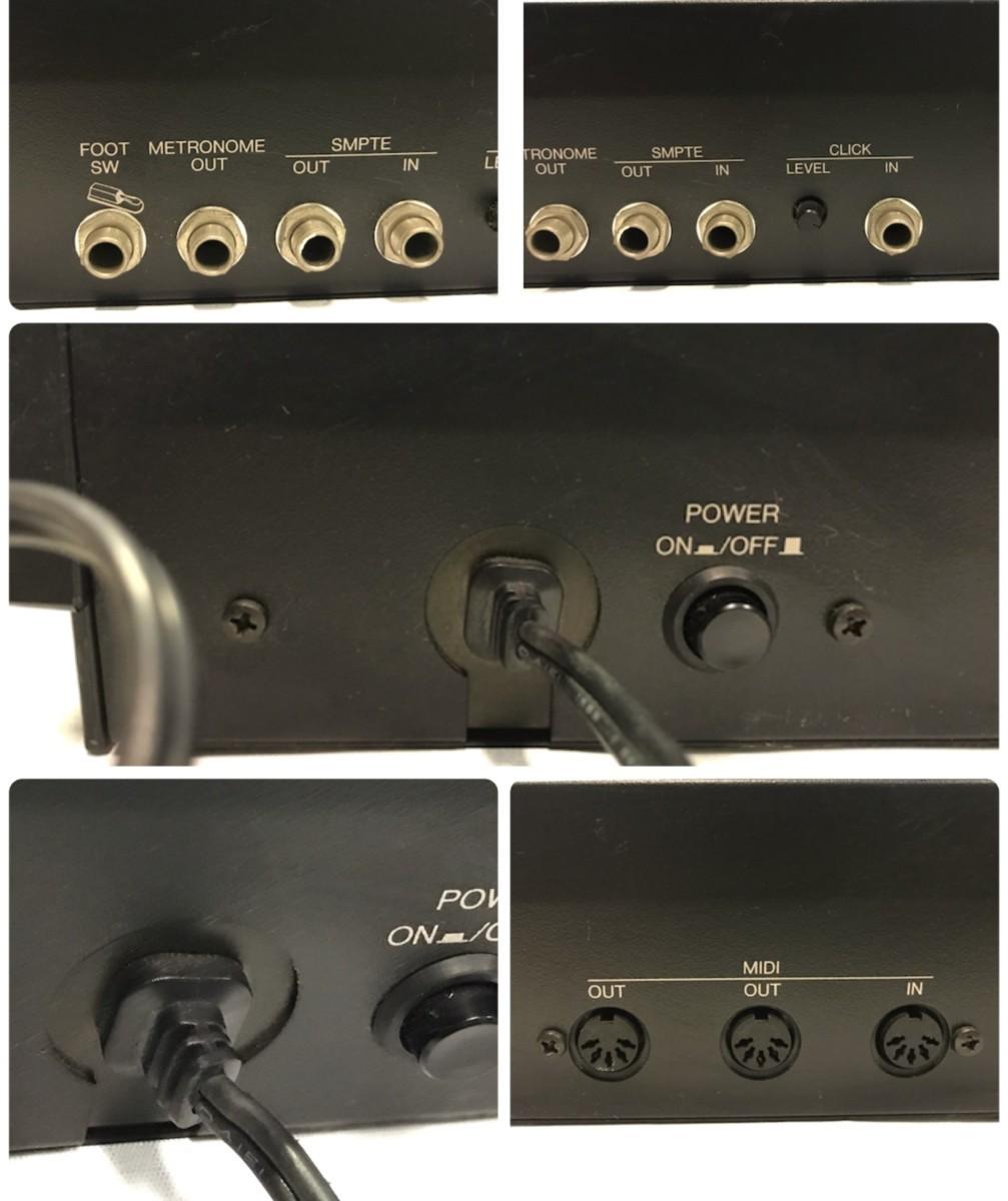 21B102 送料無料 YAMAHA MIDI SYNCHRONIZER MSS1 ヤマハ シンクロナイザー ジャンク 通電確認済_画像8