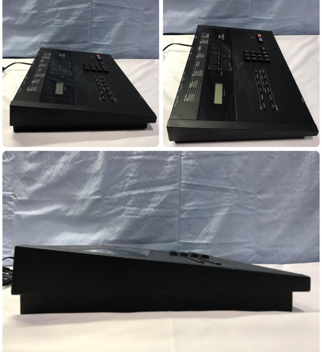 21B102 送料無料 YAMAHA MIDI SYNCHRONIZER MSS1 ヤマハ シンクロナイザー ジャンク 通電確認済_画像6