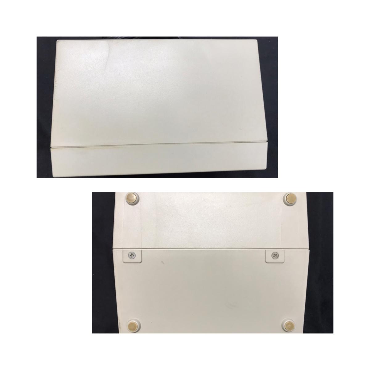 21A081 送料無料 NEC PC-DR311 データレコーダー DATA RECORDER 通電確認済 ジャンク扱い_画像10