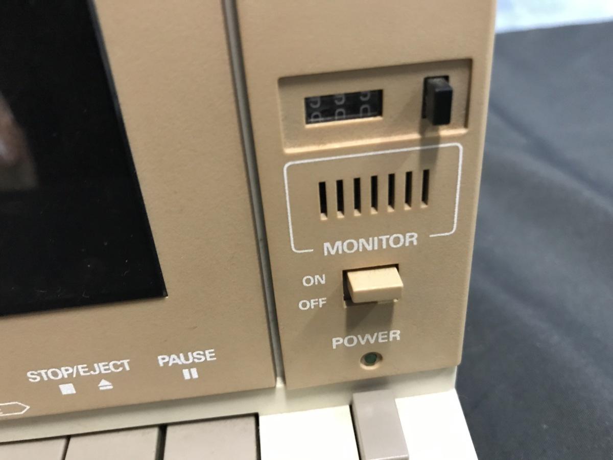 21A081 送料無料 NEC PC-DR311 データレコーダー DATA RECORDER 通電確認済 ジャンク扱い_画像5
