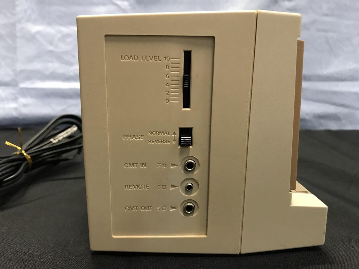 21A081 送料無料 NEC PC-DR311 データレコーダー DATA RECORDER 通電確認済 ジャンク扱い_画像6