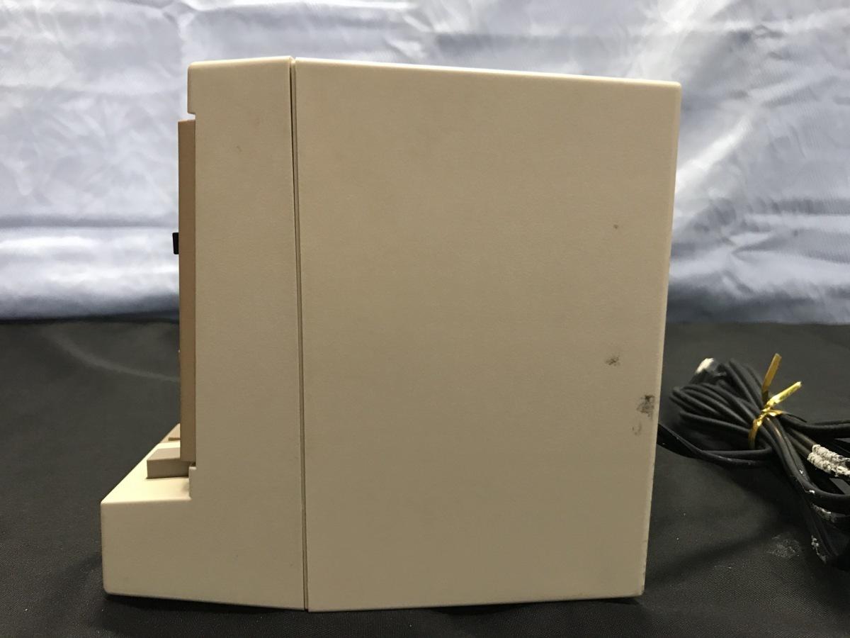21A081 送料無料 NEC PC-DR311 データレコーダー DATA RECORDER 通電確認済 ジャンク扱い_画像7