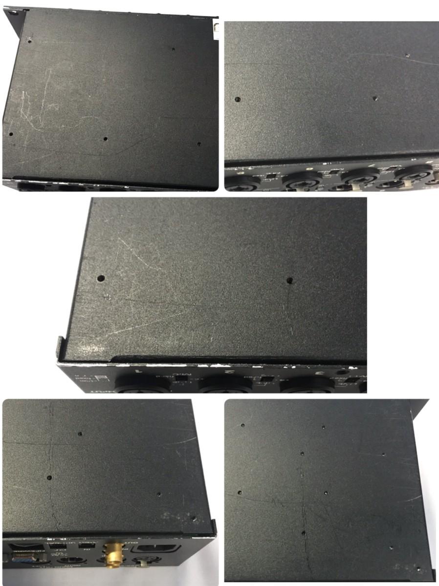 21B097 送料無料 MOTU 896 96kHz FireWire モツ オーディオインターフェイス ジャンク 通電確認済_画像9