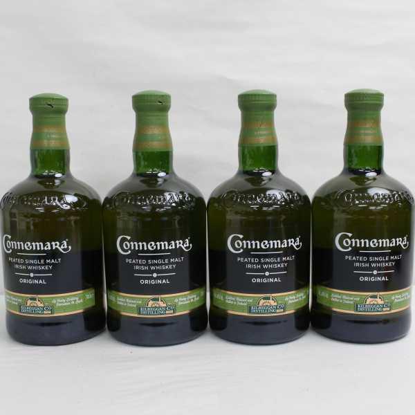 1円~【4本セット】Connemara(カネマラ)オリジナル 40% 700ml G21D090016_画像1