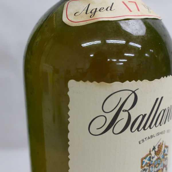 1円~Ballantine's(バランタイン)17年 ベリーオールド 43% 750ml T21D110005_画像6