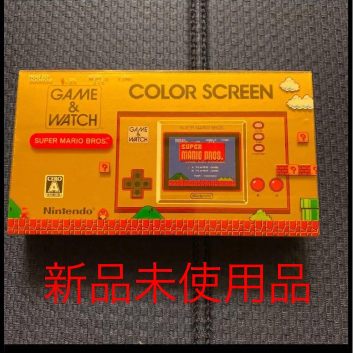 ゲーム&ウォッチ 新品未使用品 Nintendo 購入証明付