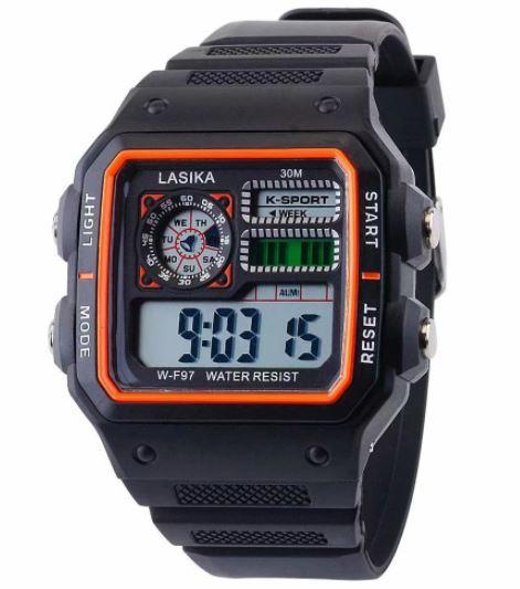 ★★メンズ腕時計 スポーツデジタル腕時計 多機能 A024_画像2