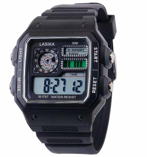 ★★メンズ腕時計 スポーツデジタル腕時計 多機能 A024_画像3