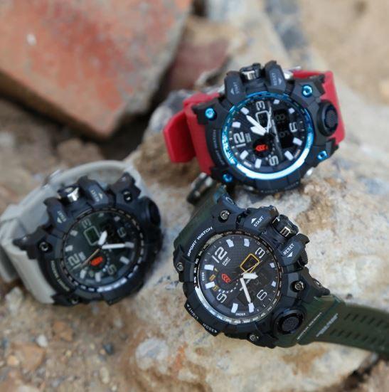 ★★メンズ腕時計 スポーツデジタル腕時計 シンプルデザイン ファッション腕時計 A022_画像3