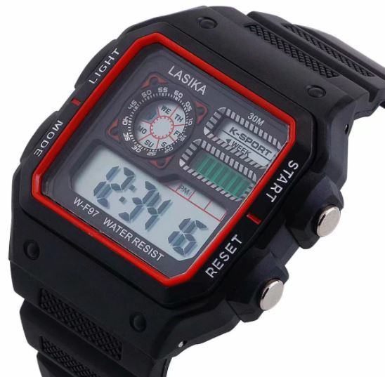 ★★メンズ腕時計 スポーツデジタル腕時計 多機能 A024_画像1