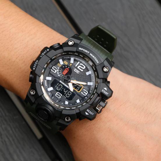 ★★メンズ腕時計 スポーツデジタル腕時計 シンプルデザイン ファッション腕時計 A022_画像4