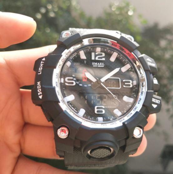 ★★メンズ腕時計 スポーツデジタル腕時計 シンプルデザイン ファッション腕時計 A022_画像1