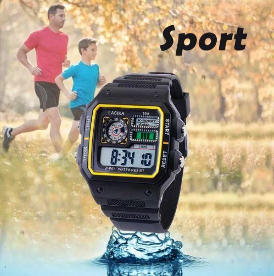 ★★メンズ腕時計 スポーツデジタル腕時計 多機能 A024_画像5