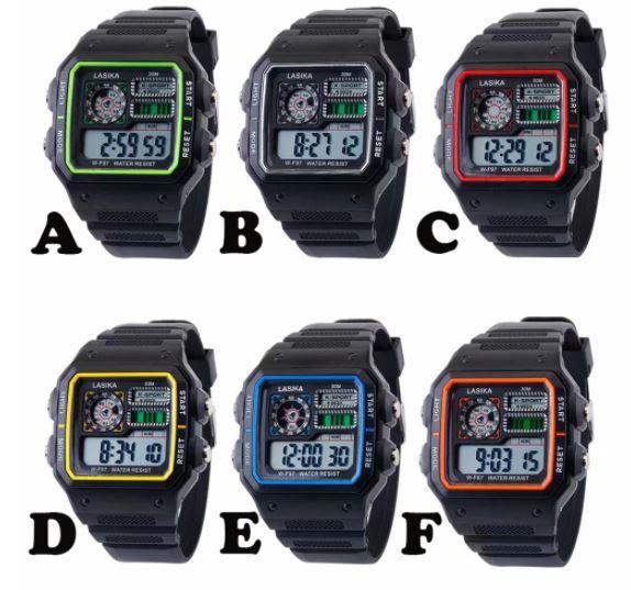 ★★メンズ腕時計 スポーツデジタル腕時計 多機能 A024_画像4
