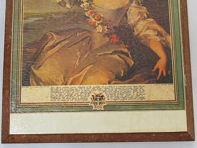 ARTDECO アートデコ アンティーク調 壁飾 ウォールデコ 「女性」 サイズ約395x295mm/インテリア雑貨 壁掛 -011_画像3