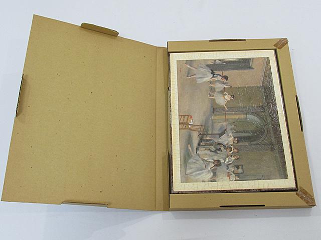 ARTDECO アートデコ アンティーク調 壁飾 ウォールデコ 「バレエ 少女」 サイズ約295x395mm/インテリア雑貨 壁掛 -013_画像8