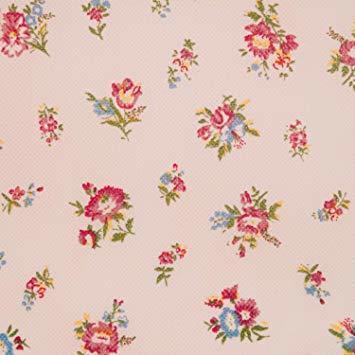 ピンクローズ柄 アストロ 羽毛布団 収納袋 シングル用 ガーデン柄 不織布 持ち手付き 縦型 135-03_画像7