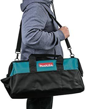 横×高さ×奥行 工具差し入れ Makita 約53cm×27cm×23cm マキタ 道具袋 ツールバッグ 工具バッグ 大口収納_画像2
