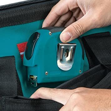 横×高さ×奥行 工具差し入れ Makita 約53cm×27cm×23cm マキタ 道具袋 ツールバッグ 工具バッグ 大口収納_画像5