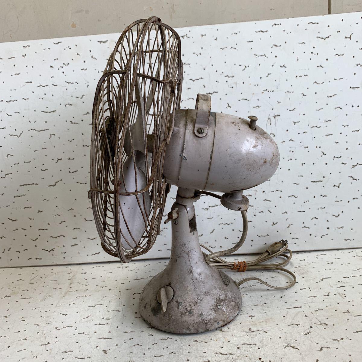 東芝 TOSHIBA 扇風機 動品 昭和レトロ アンティーク_画像7