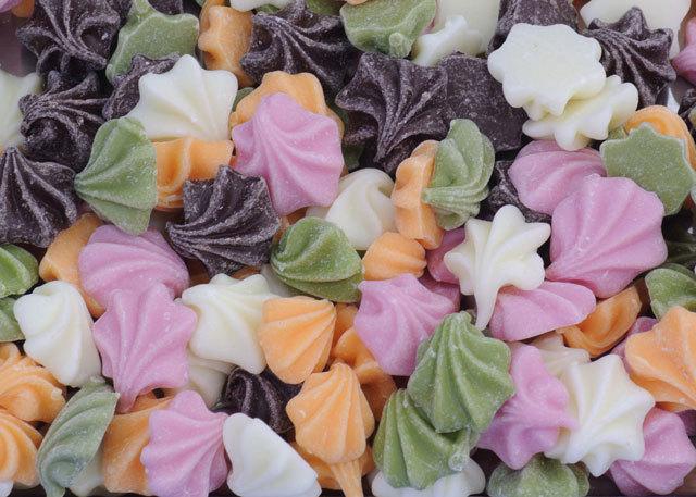キスチョコレート【送料込】(たっぷり500g)|お花のような貝殻のようなチップチョコ♪キッスチョコはこれ!お酒のおつまみチョコに♪_画像4