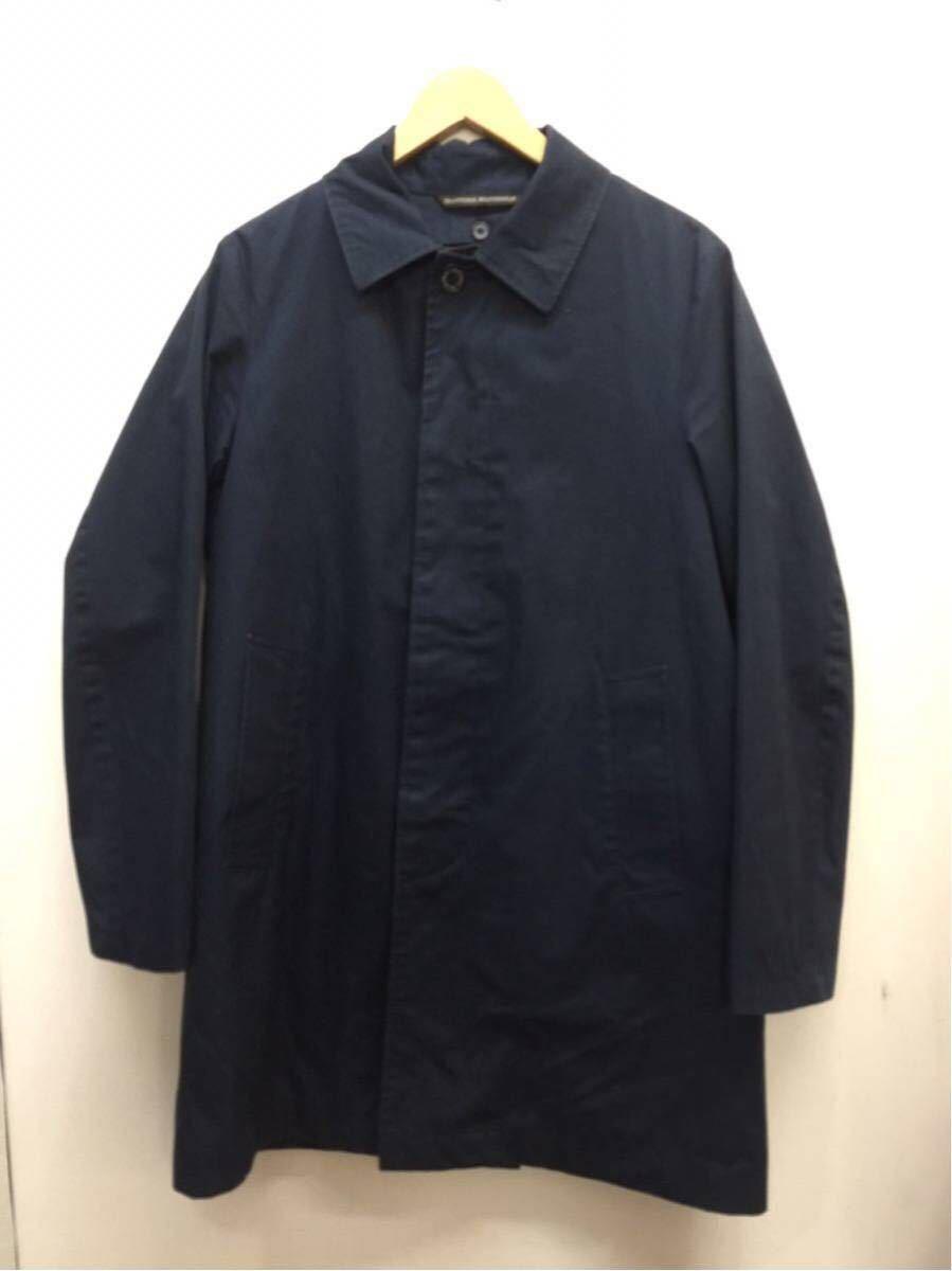 20210410【Traditional Weatherwear】トラディショナルウェザアウェアー マッキントッシュ SELBY ライナー コート ネイビー サイズ 38