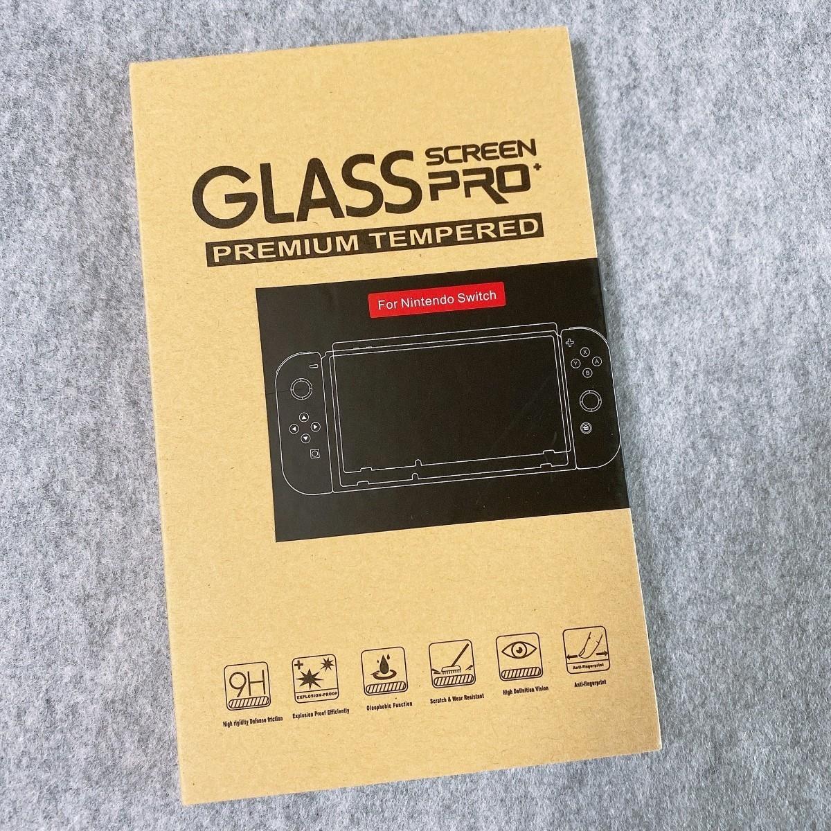 任天堂 スイッチ Switch 保護フィルム ブルーライト ガラス 液晶 画面