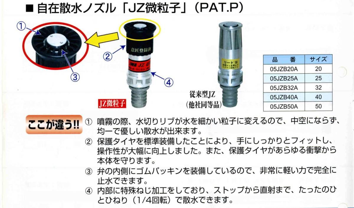 新品・新商品・40A噴霧無反動ノズル 送料無料_画像3